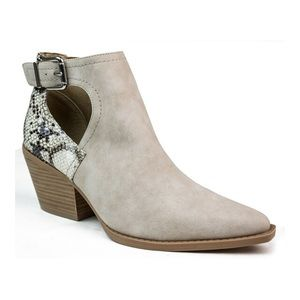 New Seven Dials 'Queensbury' Ankle Boots | Snake